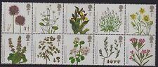 GB 2009 Endangered Plantes SG 2931-40 MNH