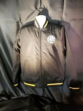Nike Golden State Warriors Varsity Jacket Men's M NEW with tags Modern black Zip