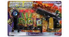 kids boys stocking filler playset toy super gun targets shooting shooter xmas
