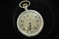 VINTAGE WALTHAM STERLING SILVER POCKETWATCH!!