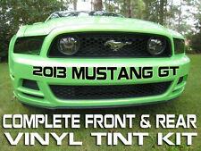2013/2014 Mustang V6 [FR+6] Tint Kit - Front & Rear+ - w/Tail Light Inserts!