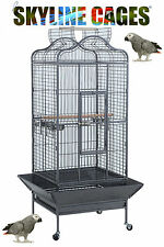 EAGLE DOME OPENING TOP AFRICAN GREY AMAZON SMALL COCKATOO PARROT CAGE