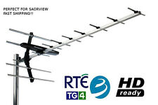 UHF Digital Terrestrial Branded LTE Aerial HD & Saorview Irish TV