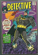 Detective Comics #368 F Gotham City Batman Robin