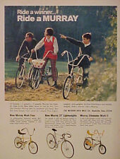 1971 Murray Mark Four~Lightweights~Eliminator Mark II Bicycles~Bikes Print AD