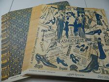 "Graphic 45 Scrapbook Paper 12x12 Fashionista ""Bon Marche"" 50 Double Sided Sheets"