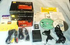 Nikon COOLPIX AW100 16.0MP Digital Camera - Orange - Shockproof - Waterproof GPS