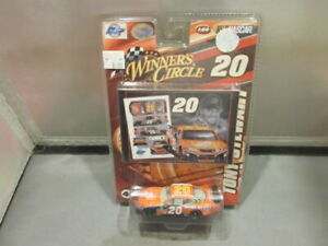 2008 WINNERS CIRCLE # 20 Tony Stewart NASCAR Stock Car with  CARD 1:64