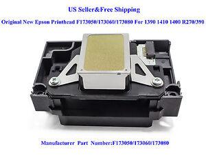 Original Printhead F173050/173060/173080 F Epson 1390 1410 1400 R270/390 L1800