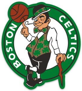 Boston Celtics Logo Type Die-cut MAGNET
