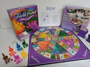 Trivial Pursuit Genus Edition Parker Brothers 2001 Complete