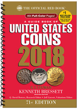 2018 A Guide Book of United States Coins RED BOOK 71st Edition Spiral Bound
