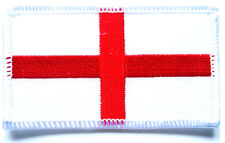 ST GEORGE CLOTH PATCH Great Britain sew on flag badge Team GB England red white
