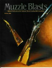 Muzzle Blasts magazine, February 2000 edition, very good condition