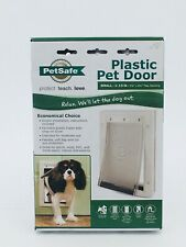 PetSafe Pet Door: Small1-15 Ibs | Doggy Door | Cat Door | Plastic (Hom 09)