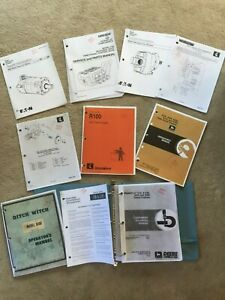 DITCH WITCH R100 operators REPAIR SERVICE PARTS manuals LITERATURE JOHN DEERE