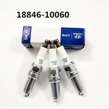 4 Iridium Spark Plug 18846-10060 SILZKR6B10E for Hyundai Accent Veloster Kia Rio