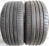 2 pneus d'été Pirelli Cinturato P7 (RSC ) 245/45 R18 9