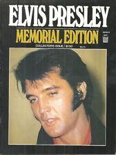 ELVIS PRESLEY MEMORIAL EDITION #3 - 1977 IDEAL MAGAZINE - B&W PHOTOS