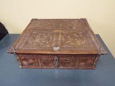 17th Century Baroque Oak Bible Box