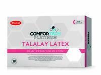 TONTINE Comfortech Platinum Luxurious Latex Dual Contour Profile & Medium Feel