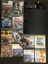Sony Playstation 3 PS3 Slim 320GB Console Initial D Games Dragon Ball Z Bundle