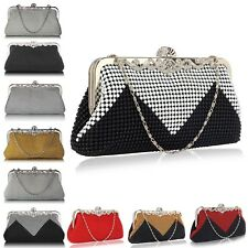 Beaded clutch Purse Bag For Women Evening Handbag Designer Pearl New Style Chain