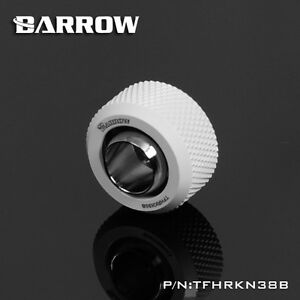 """Barrow G1/4"""" 13/10mm 3/8 - 1/2 Flexible Tube Compression Fitting White - 211"""