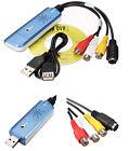 USB 2.0 Converter Audio Video Grabber Capture Adapter Computer Card NTSC PAL NT