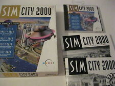 Sim City 2000 PC game CD-ROM Collection Maxis complete