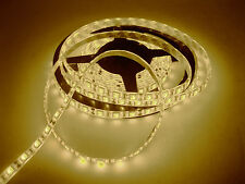 16ft Warm White flexible waterproof 300leds SMD 5050 LED Strip Deco lights lamp