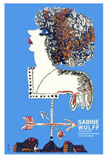 Movie Poster for film SABINE Wulff.Lady German vane.Room art decor design