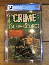 Crime SuspenStories 5 CGC 1.5 2132971012