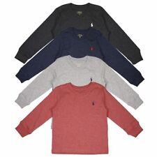 Polo Ralph Lauren Kid'S Classic V-образным вырезом L/s T-Shirt