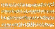 PREISER 16328 assis personnes. 120 figurines non-peintes, H0