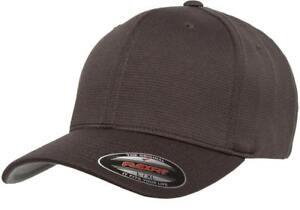 6597 Flexfit® Cool & Dry Sport Hat Fitted Baseball Blank Plain Ball Cap Flex Fit