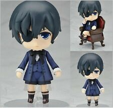 "Anime Black Butler Ciel Phantomhive Nendoroid #117 PVC Figure Toy gifts 4""/10cm"