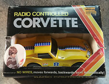 Vanity Fair RADIO CONTROLLED CORVETTE Vintage In original box...