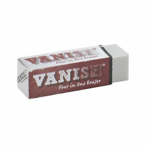 Vanish 4-in-1 Artist Eraser Replaces Gum Rubber Vinyl and Kneaded Erasers