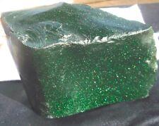 Antique Franciscan Chrome Aventurine (Green Gold Stone) 6 LBS 8.6 Oz Italy