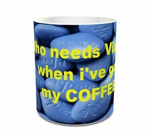 Viagra Pfizer Tablet Mug novelty mug office mug ceramic 11oz mug