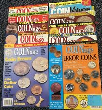10-Issues Mint Error Coins- Coinage Magazines