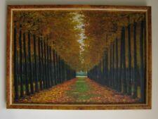 Tableau a l'huile Automme Peintre contemporain S.B