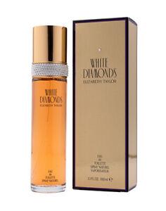 White Diamonds by Elizabeth Taylor 3.3 / 3.4 oz EDT Perfume for Women New In Box