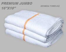 60 new gold stripe premium grade bar mop mops restaurant cleaning towel 34oz