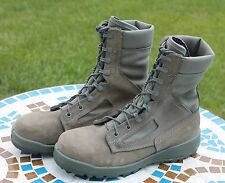 Belleville F650 ST Green Boots Women's Size 8 R Flight USAF Military Steel Toe