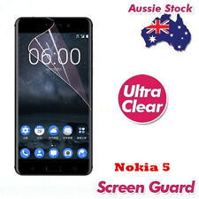 Ultra Clear Plastic Screen Protector For Nokia 5 Cover Entire Flat Screen