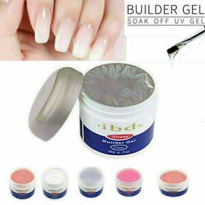 56g IBD UV / LED Hard Builder Gel Nail Art Nagel Maniküre Beauty Salon 4 Farbe