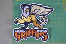 Grand Rapids Griffins AHL Large Throwback Hockey Jersey Jacket Patch Crest