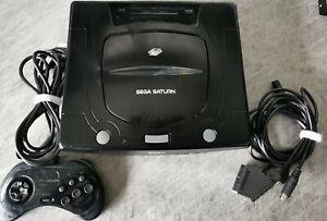 Sega Saturn Schwarz Spielekonsole (PAL)